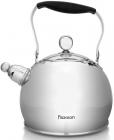 Чайник Fissman Elis 3л з нержавіючої сталі зі свистком