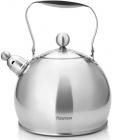Чайник Fissman Adele 3.5л из нержавеющей стали со свистком