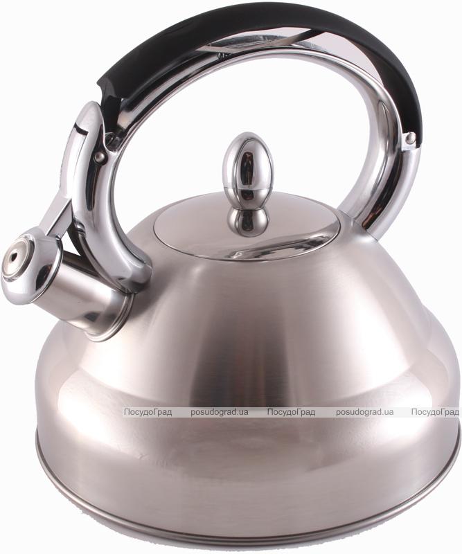 Чайник Fissman Oxford 2.7л со свистком
