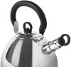 Чайник Fissman Gemma 1.8л з нержавіючої сталі, зі свистком