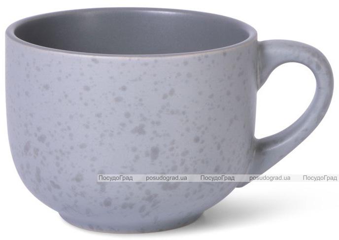 Кружка керамическая Fissman Silis 450мл, серая