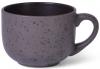 Кружка керамическая Fissman Silis 450мл, фиолетовая