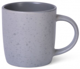 Кружка керамічна Fissman Mairenn 330мл, сіра