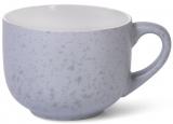 Кружка керамическая Fissman Silis-87 450мл, серый/белый