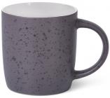 Кружка керамическая Fissman Mairenn-92 330мл, фиолетовый/белый