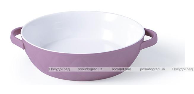 Форма для запекания Fissman Margaret керамическая, Ø19см, сиреневая