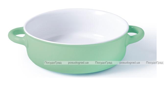 Форма для запекания Fissman Margaret керамическая, Ø19см, мятная
