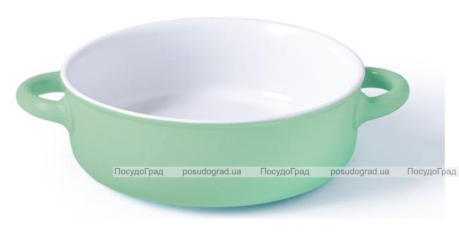 Форма для запекания Fissman Margaret керамическая, Ø23см, мятная