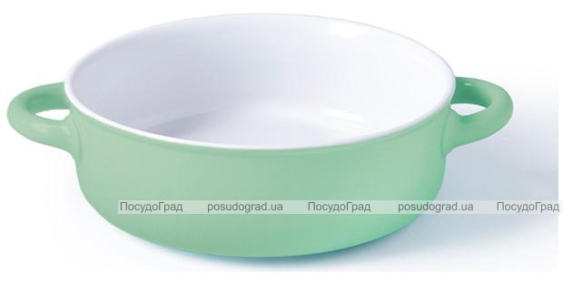 Форма для запекания Fissman Margaret керамическая, Ø28см, мятная