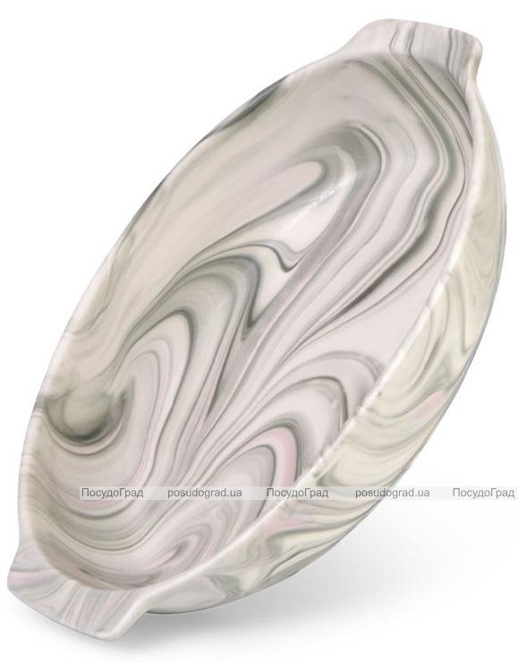 Форма для выпечки Fissman Valencia овальная 31х21см керамическая