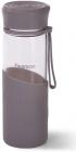 Бутылка спортивная Fissman Sport Line 500мл, стеклянная, серая
