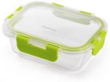 Контейнер для продуктов Fissman Purity 380мл стеклянный, 15.5х11.5х5.5см