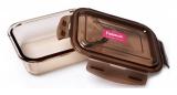 Контейнер для продуктів Fisman Luxor 640мл скляний, 17х12х5см