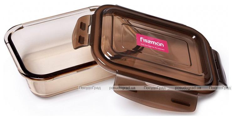 Контейнер для продуктов Fisman Luxor 1040мл стеклянный, 19х14х6см