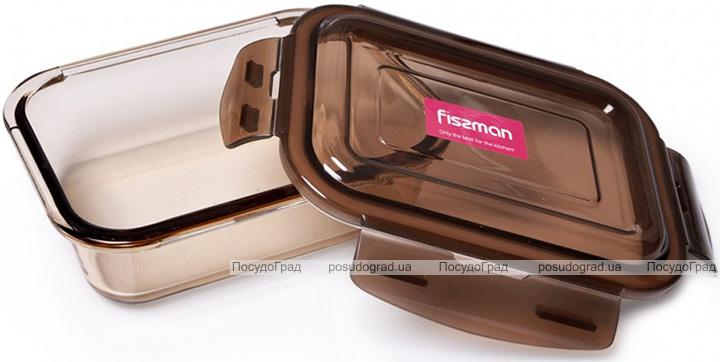 Контейнер для продуктів Fisman Luxor 1520мл скляний, 22х16х7см