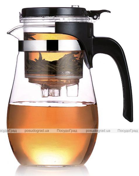 Чайник заварочный Fissman Gunfu 900мл с заварочной колбой