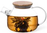 Чайник заварювальний Shamsi Gunfu 800мл скляний з металевим ситом