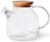 Чайник заварочный Fissman Shamsi 1.2л стеклянный с металлическим ситом