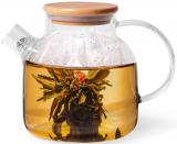 Чайник заварювальний Shamsi Gunfu 1.2л скляний з металевим ситом