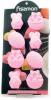 Форма силиконовая для льда и конфет Fissman Пасхальный Кролик 20.8х10.8см