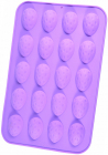 Форма силиконовая для льда и конфет Fissman Перепелиные Яйца 28х19см