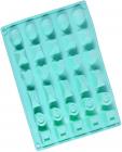 Форма силиконовая для льда и конфет Fissman Ассорти 27х23.5см