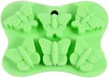 Форма силиконовая для льда и конфет Fissman Бабочки 14х10.5см