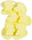 Форма силиконовая для льда и конфет Fissman Зайчата 15х11см