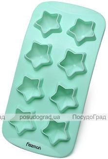 Форма силіконова для льоду і цукерок Fissman Зірочки 21х10.5см