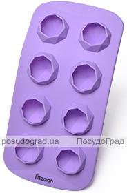 Форма силиконовая для льда и конфет Fissman Бриллианты 21х10.5см