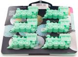 Форма для выпечки Fissman Паровозики силиконовая 22х20см, 6 ячеек