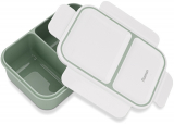 Ланч-бокс Fissman Milly на 2 секції 1.3л, 20х14х8см пластик, зелений