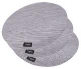 Набір 4 сервірувальних килимка Fissman Cyprian-678 Ø36см, пвх