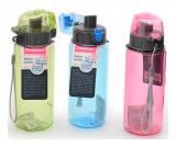 Пляшка для води Fissman Flap 500мл, пластик