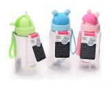 Бутылка детская Fissman Alien 350мл с трубочкой, пластик