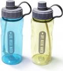 Пляшка для води Fissman Sport 1200мл з трубочкою, пластик