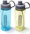 Бутылка для воды Fissman Sport 1200мл с трубочкой, пластик