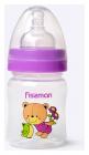 """Пляшка дитяча для годування Fissman Babies """"Ведмедик-улюбленець"""" 120мл з широкою шийкою"""