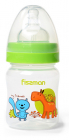 """Бутылочка детская для кормления Fissman Babies """"Мои друзяшки"""" 120мл с широким горлышком"""