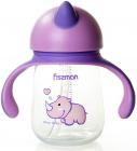 """Бутылочка детская Fissman Babies """"Носорог"""" 260мл с ручками"""
