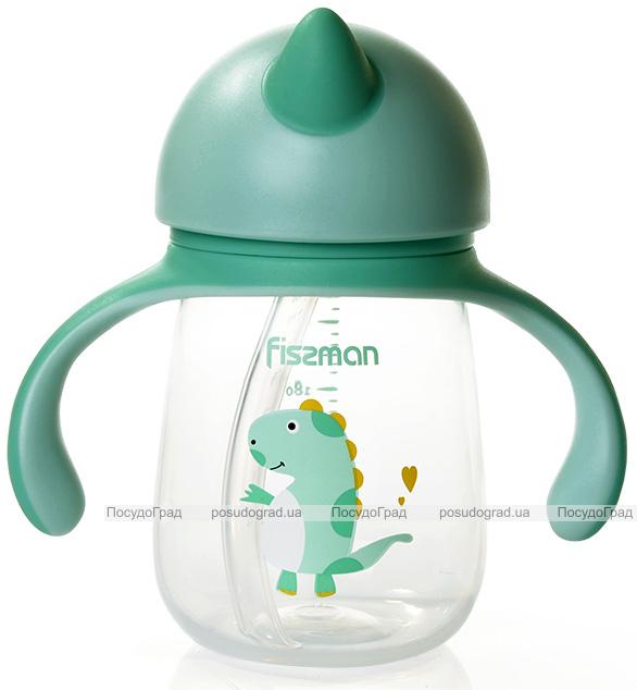 """Бутылочка детская Fissman Babies """"Жираф"""" 260мл с ручками"""