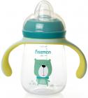 """Пляшка дитяча для годування Fissman Babies """"Містер Пес"""" 260мл з ручками"""