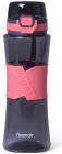 Бутылка спортивная Fissman Pink 520мл пластиковая, черная с розовым