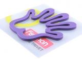 Подставка под горячее Fissman Lilac Hand 16x17см силиконовая