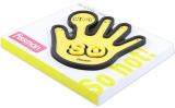 Подставка под горячее Fissman Yellow Hand 17x15см силиконовая