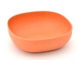 Миска Fissman Ø15см помаранчева з бамбукового волокна