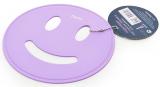 Подставка под горячее Fissman Smile Ø17см силиконовая, лиловый