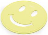 Подставка под горячее Fissman Smile Ø17см силиконовая, желтая
