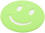 Подставка под горячее Fissman Smile Ø17см силиконовая, салатовая