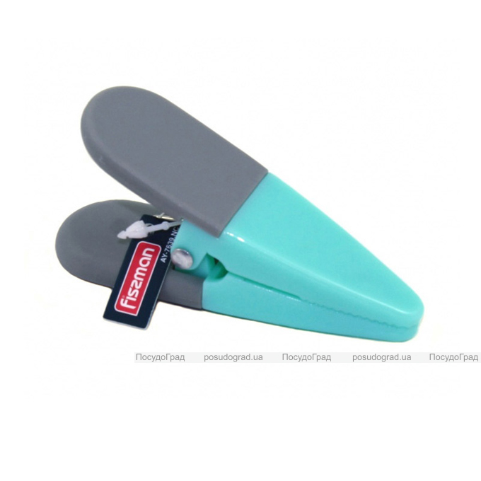 Зажим-прищепка Fissman с магнитом для пакетов и записок